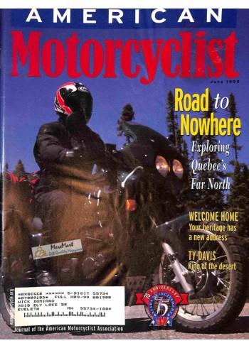 American Motorcyclist, June 1999
