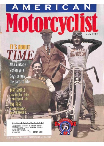 American Motorcyclist, July 1999