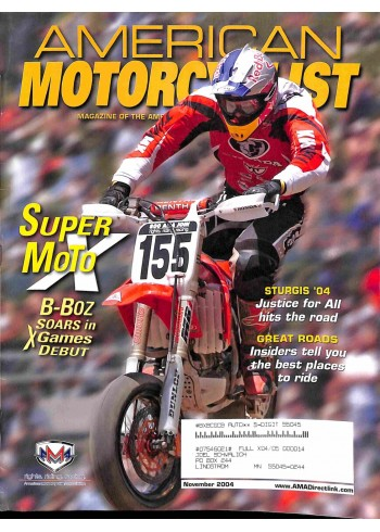 American Motorcyclist, November 2004