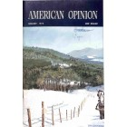 Cover Print of American Opinion, January 1973