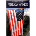 Cover Print of American Opinion, July 1974