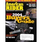Cover Print of American Rider, 2004