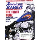 Cover Print of American Rider, April 2002