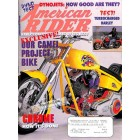 Cover Print of American Rider, August 1998