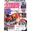 Cover Print of American Rider, August 1999