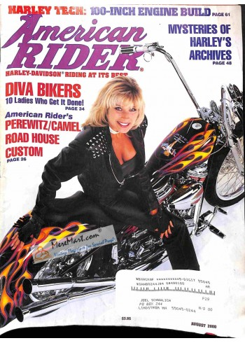 Cover Print of American Rider, August 2000