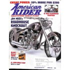 Cover Print of American Rider, August 2001