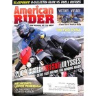 Cover Print of American Rider, August 2009