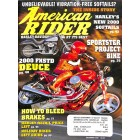 Cover Print of American Rider, December 1999