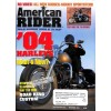 Cover Print of American Rider, December 2003
