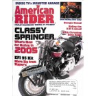 Cover Print of American Rider, December 2004