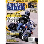 Cover Print of American Rider, December 2008