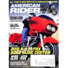 Cover Print of American Rider, December 2009