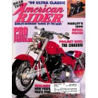 Cover Print of American Rider, February 1999