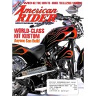 Cover Print of American Rider, July 2002