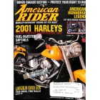 Cover Print of American Rider, October 2000