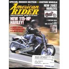 Cover Print of American Rider, October 2001