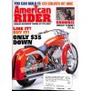Cover Print of American Rider, October 2003