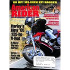 Cover Print of American Rider, October 2004