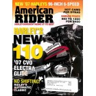 Cover Print of American Rider, October 2006
