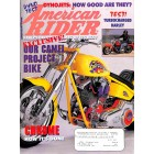 American Rider, August 1998