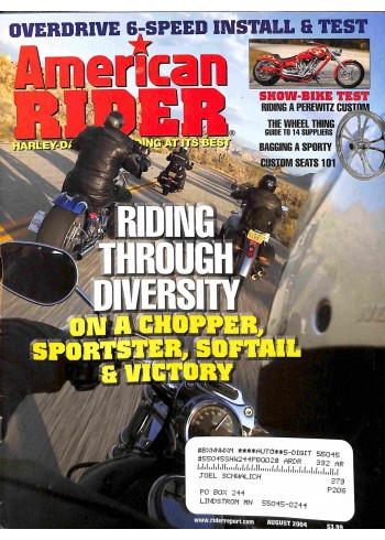 American Rider, August 2004