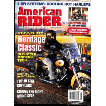 American Rider, August 2007