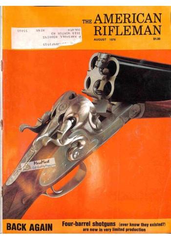 American Rifleman, August 1976