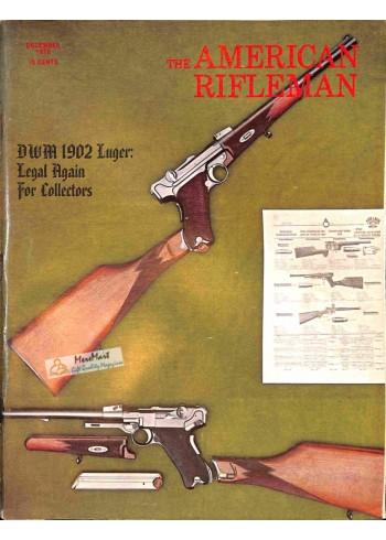 Cover Print of American Rifleman, December 1972
