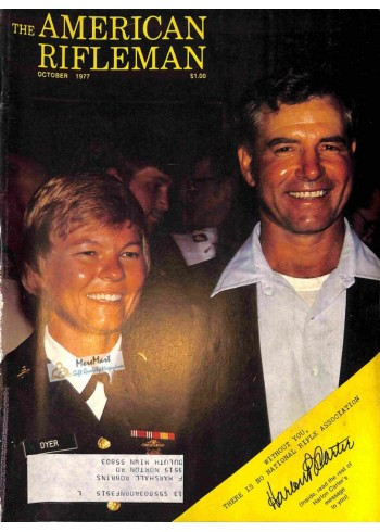 Cover Print of American Rifleman, October 1977