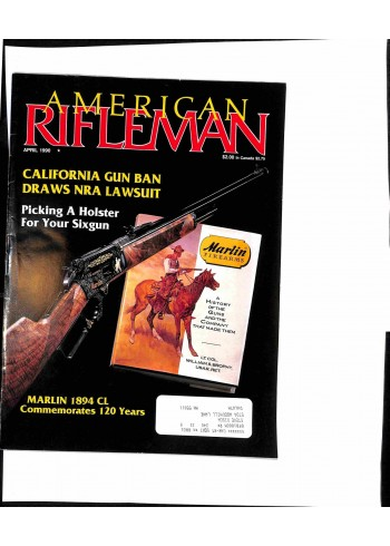 Cover Print of American Rifleman, 1990