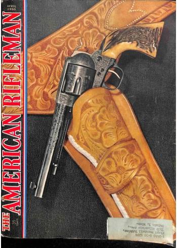Cover Print of American Rifleman, April 1950