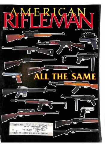 Cover Print of American Rifleman, April 1989