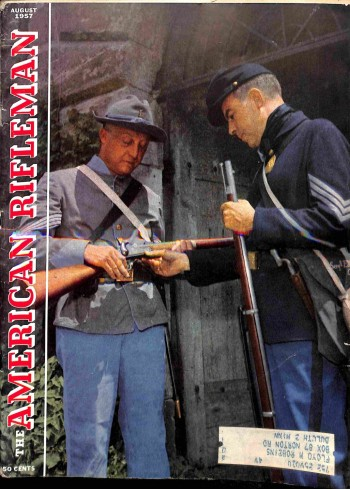 Cover Print of American Rifleman, August 1957