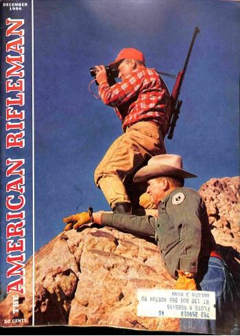 Cover Print of American Rifleman, December 1956