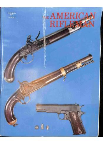 American Rifleman, February 1971