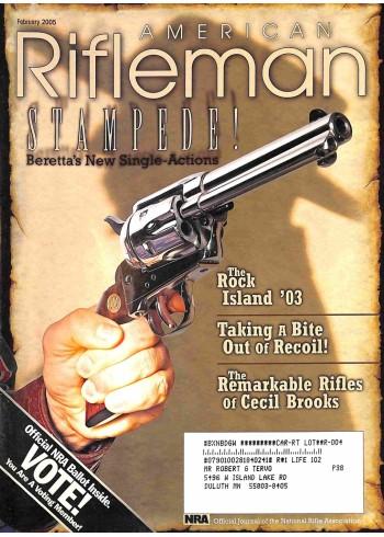 American Rifleman, February 2005