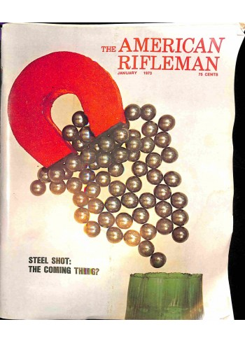 American Rifleman, January 1973