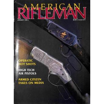 American Rifleman, January 1990