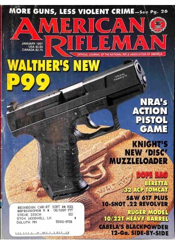 American Rifleman, January 1997