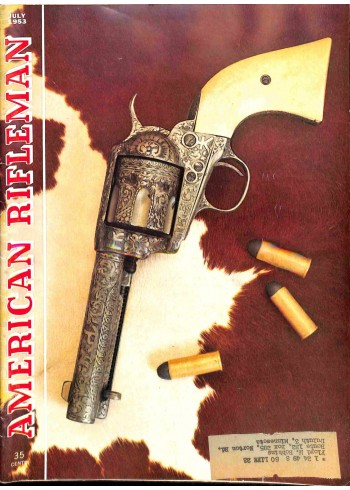 Cover Print of American Rifleman, July 1953