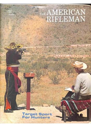 American Rifleman, July 1973