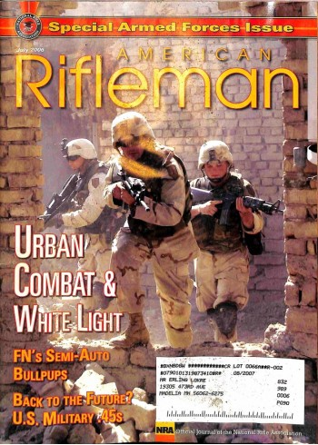 American Rifleman, July 2006