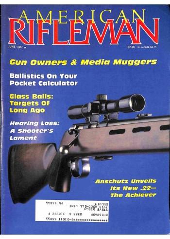 American Rifleman, June 1987