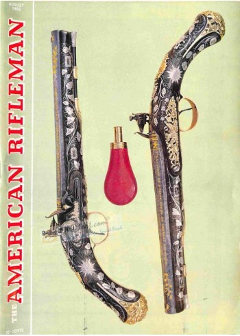 Cover Print of American Rifleman, August 1966