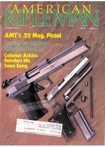 Cover Print of American Rifleman, August 1987