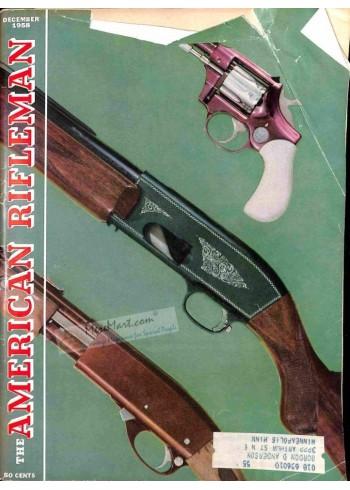 Cover Print of American Rifleman, December 1958
