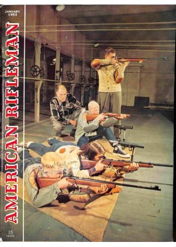 Cover Print of American Rifleman, January 1953