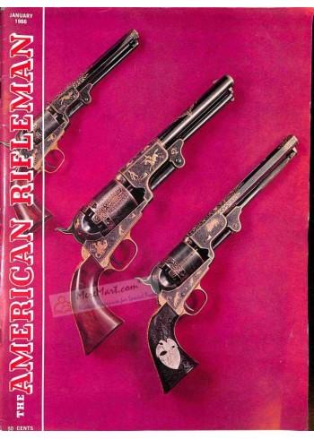 Cover Print of American Rifleman, January 1966
