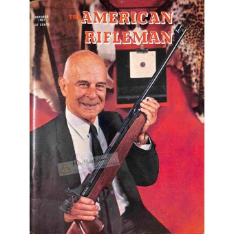 Cover Print of American Rifleman Magazine, October 1967